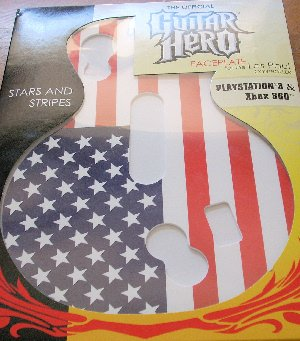 (Guitar Hero Faceplate -- Stars and Stripes (Les Paul Controller))