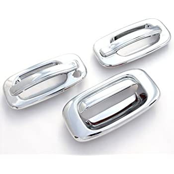 For Chevy Silverado 1500//2500//3500 99-06 Chrome Full Mirror Covers