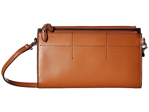 Lodis Accessories Women's Audrey RFID Fairen Clutch Crossbody Toffee 1 One Size (Stores Lodi)