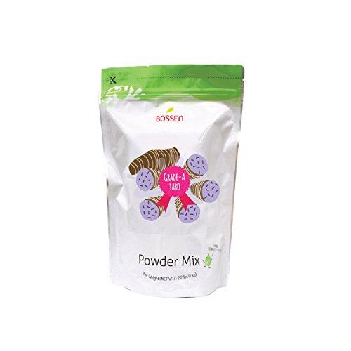 Bossen Bubble Tea Powder Mix - Taro Grade A - 2.2 Pound