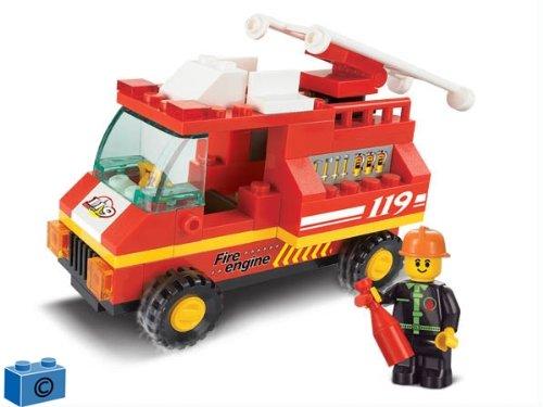 5 opinioni per Sluban M38-B0173- Camion dei Pompieri