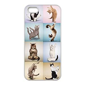 Yoga Cats Unique Fashion Printing Phone Case for Iphone 5,5S,personalized cover case ygtg572825 by Maris's Diary