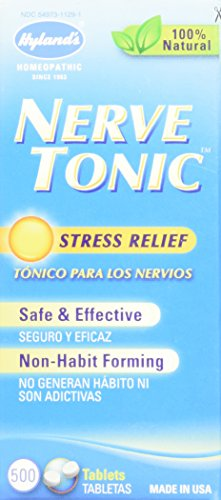 Hyland's Nerve Tonic, 500 Tablets (Pack of 2)