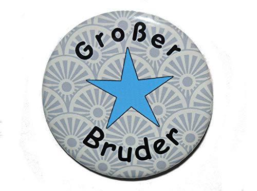 Gro/ßer Bruder Varianten Button 50mm K/ühlschrankmagnet 50mm Flaschen/öffner 59mm Taschenspiegel 59mm