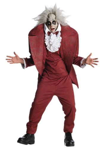 Shrunken Head Mens BeetleJuice Costume sz XL ()