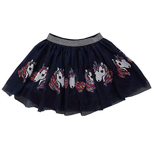 (Little Girls Tutu Skirt Unicorn Sequins Mini Princess Birthday Party)