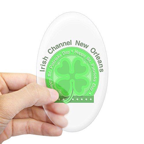 CafePress Irish Channel Oval Sticker Oval Bumper Sticker, Euro Oval Car Decal
