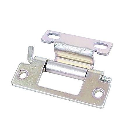 DealMux Máquina porta do armário 80 milímetros Comprimento do metal de soldadura industrial Wrap-Around dobradiça: Amazon.es: Bricolaje y herramientas