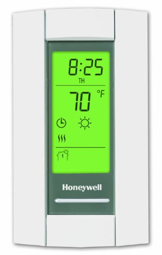Honeywell TL8230A1003 Line Volt Thermostat 240/208 VAC 7 Day Programmble Double Pole Line Voltage Thermostat