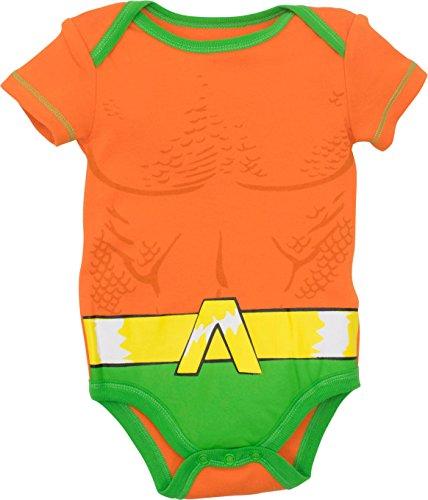 Warner Bros Justice League Baby Boys 5 Pack Superhero Bodysuits