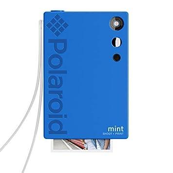 Polaroid Mint Appareil photo numérique à impression instantanée (Bleu), impression sur papier photo