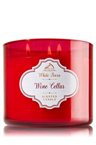 Bath & Body Works Candle 3 Wick White Barn Wine Cellar (White Cellar compare prices)