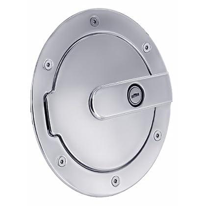 Image of All Sales 6070CL Billet Fuel Door Fuel System