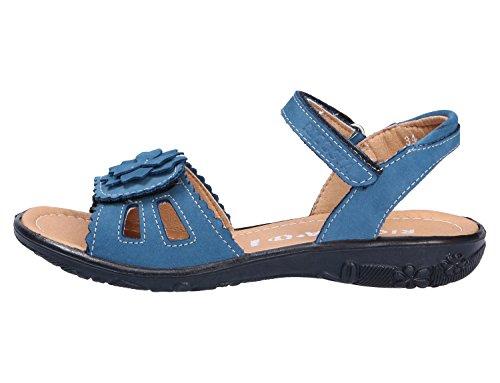 Ricosta Gundi Bambina Sandali Blu Tacco Con Tw7Bn8vqT