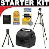 Deluxe DB ROTH Accessory STARTER KIT For The Sony DCR-DVD103, DVD108, DVD308, DVD408, DVD508, DVD610, DVD650, DVD703, DVD705, DVD708, DVD710 DVD Camcorders
