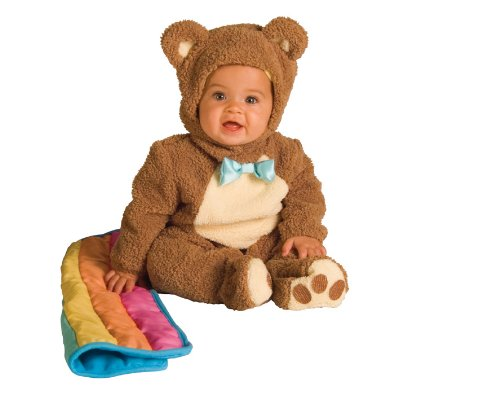 Bear Toddler Costumes (Rubie's Costume Infant Noah Ark Collection Oatmeal Bear Jumpsuit, Brown/Beige, 18-24)