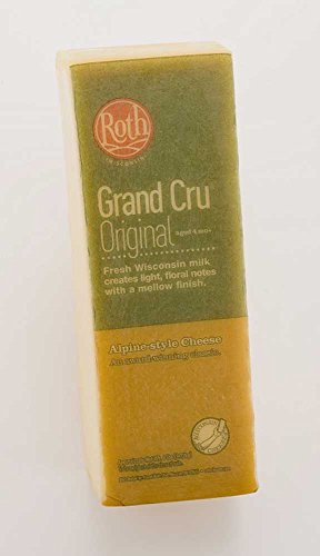 Grand Cru Gruyere King Cut Loaf Cheese, 6 Pound -- 2 per case. by Roth Kase