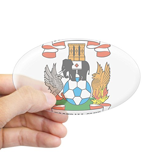 Wall Coventry Small (CafePress - Oval Sticker - Oval Bumper Sticker, Euro Oval Car Decal)