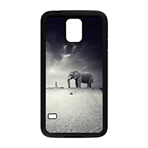 HB-P-CASE DIY Design Elephant Pattern Phone Case For SamSung Galaxy S5 i9600
