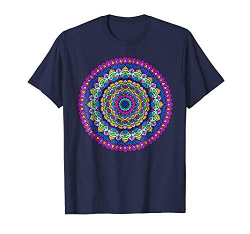 Jewel Toned Floral Mandala Bohemian -