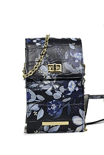 Leather Madeleines Crossbody Madison Brahmin Navy xwBqZn1