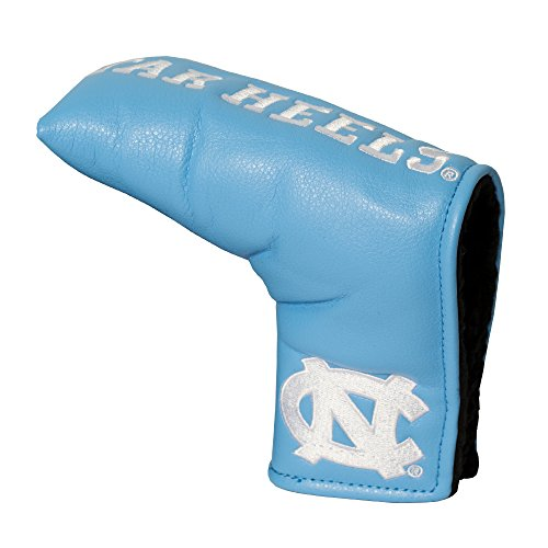 Team Golf NCAA North Carolina Tar Heels Golf Club Vintage Blade Putter Headcover, Form Fitting Design, Fits Scotty Cameron, Taylormade, Odyssey, Titleist, Ping, Callaway