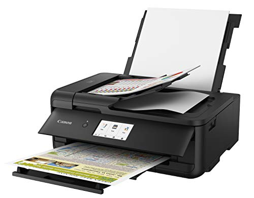 Canon PIXMA TS9520 Wireless Photo All In one Printer | Scanner | Copier | Mobile Printing with AirPrint and Google Cloud Print, Black by Canon (Image #2)