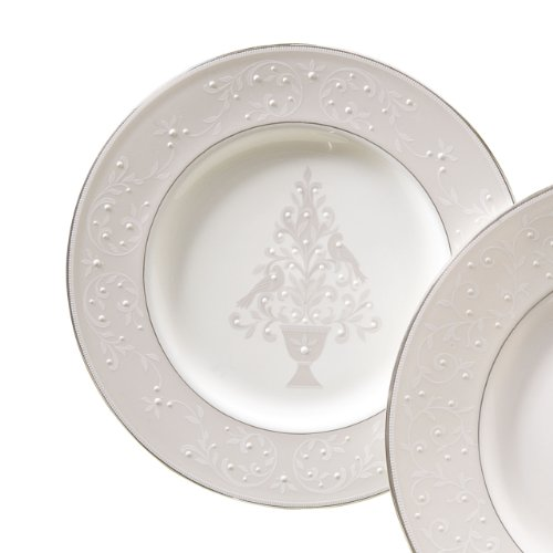 Lenox Opal Innocence Tree Accent Plate,White,Accent Plate, Tree for $<!--$32.79-->