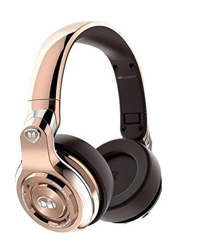 Monster Elements Wireless Over-The-Ear Bluetooth DJ Headphones, Rose Gold (137051-00)