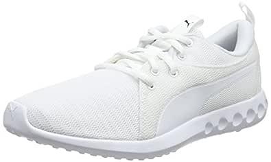 PUMA Men's Carson 2 Wht-blk Shoes, Puma White-puma Black, 7 US