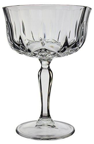 6/Fl/ûtes /à Champagne x 30/x Op/éra Maison italien Verres en cristal italien compos/é: 6/x Verres /à Vin 6/x Verres /à Cocktail Highball Mitigeur /& 6/x grands ver 6/x soucoupes Champagne
