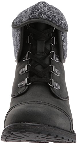 Roxy Combat Thompson Black Boot Women's Ii 16x1qwgrH