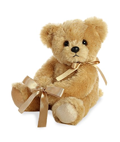 ase Hugger Jellybean Bear Plush Toy, Gold ()