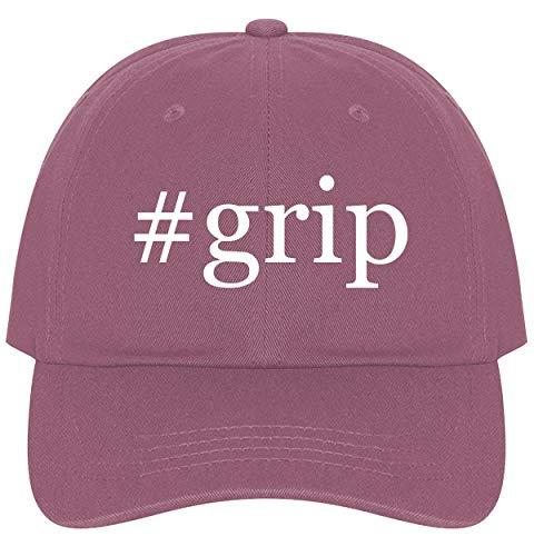 #Grip - A Nice Comfortable Adjustable Hashtag Dad Hat Cap, Pink