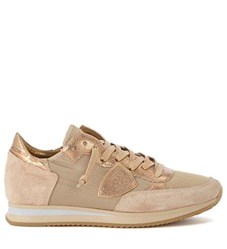 Tejido Y Suede Model Beis Sneaker En Philippe Tropez Beige Bronce xaYawqU