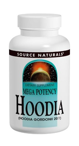 Source Naturals Hoodia Concentrate 250mg, 120 Capsules