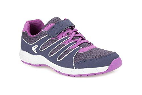 Clarks Überqueren Sie Dart Junior-Mädchen-Sport-Schuh in verschiedenen Farben Purple 13½ G