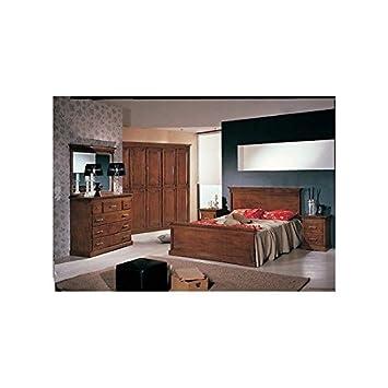 EsteaMobili Schlafzimmer Komplett Massivholz Bett Como ...