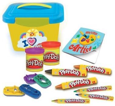 Plastilina Mi pequeño taller creativo marcadores paquete caja con almacenamiento crayolas y caja: Amazon.es: Juguetes y juegos