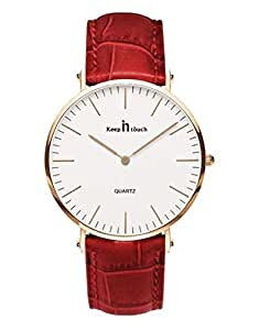 KEEP IN TOUCH Fashion Casual Leather Watch for Woman