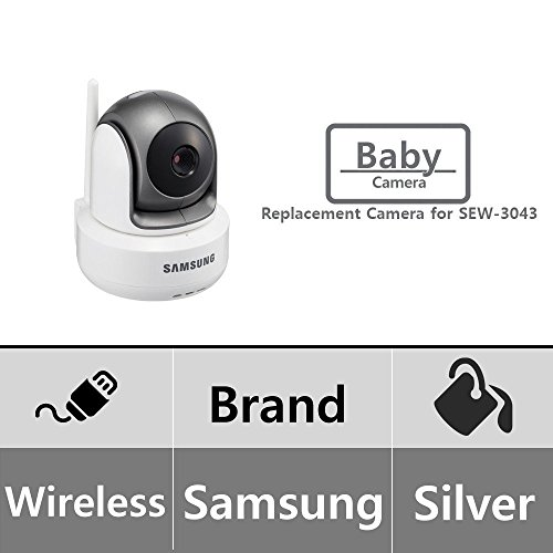 Samsung Wireless HD PTZ Video Baby Camera, White by Samsung