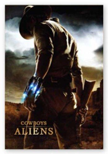 (NMR/Aquarius Cowboys and Aliens, One Sheet Poster)
