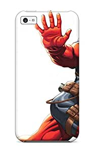 Lovers Gifts JeremyRussellVargas Awesome Case Cover Compatible With Iphone 5c - Deadpool