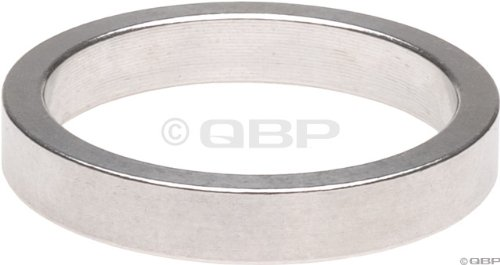 Wheels Manufacturing 1-Inch Spacer (Silver/5mm, Bag of 10) by Wheels Manufacturing