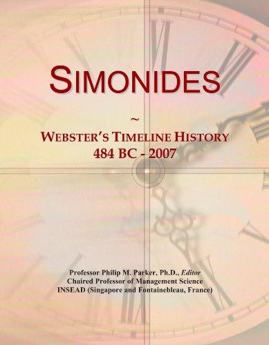 Simonides: Webster
