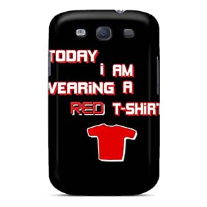 Galaxy S3 Cover Case - Eco-friendly Packaging(red Shirt)