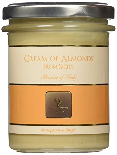 Vincente Sicilian Cream of Almonds Nut Spread, 7.05 Ounce