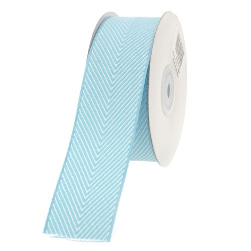 Homeford FHV000043920 10 yd Chevron Herringbone Cotton Ribbon, 1.5