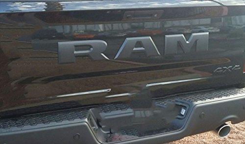 2015 Dodge Ram 1500 Rebel Tailgate Ram Emblem Letters Black Oem New Mopar