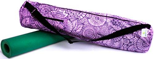 Citrus Fitness Waterproof Zen Garden Yoga Mat Bag, 32 X 7-Inch - Evening Violet